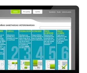 Sanitarias Veterinarias, campaña online